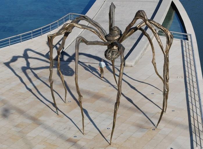 Local arachnid population.