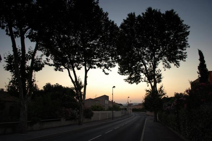 Montpellier dusk