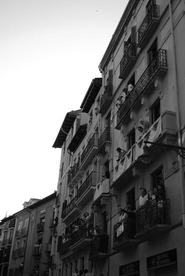 Balcony viewing.