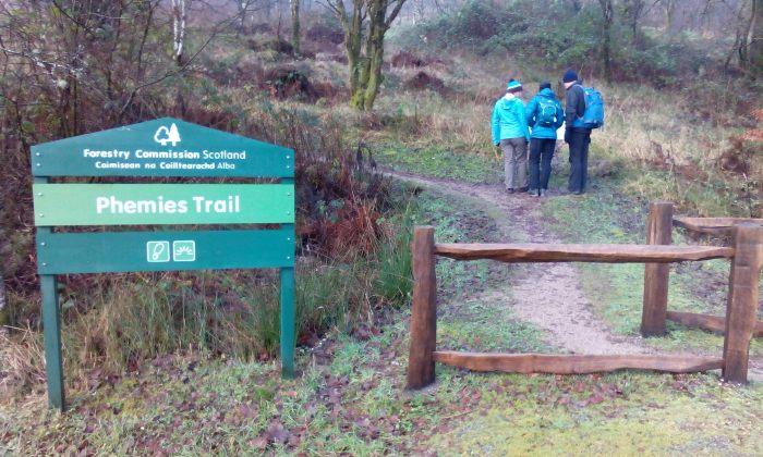 Phemie's Walk, Strontian