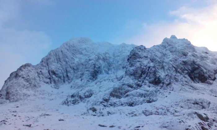 Ben Nevis North Face from the CIC hut