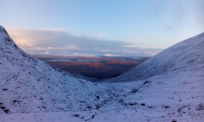 View from from the CIC hut Ben Nevis