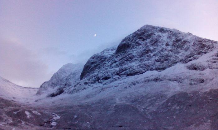 Moonrise over Ben Nevis