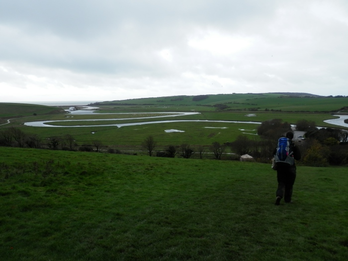 Cuckmere Haven, South Downs Way