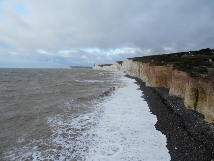 Seven Sisters from Birling Gap, South Downs Way