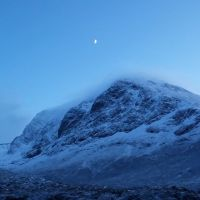 In the Shadow of Ben Nevis; a Winter Walk Underneath The North Face