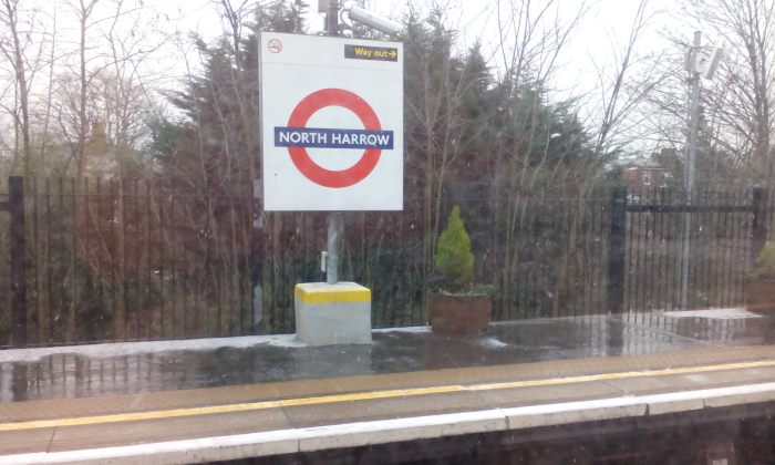 Passing through my birthplace, Harrow.