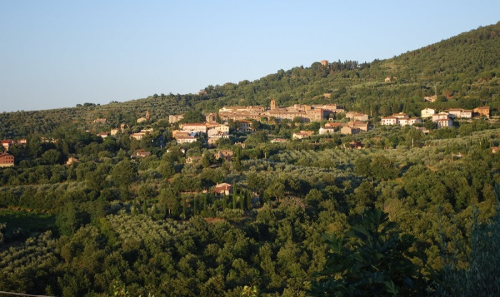 villiage of Paciano, Umbria, Italy