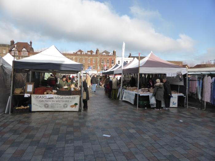 Salisbury market square