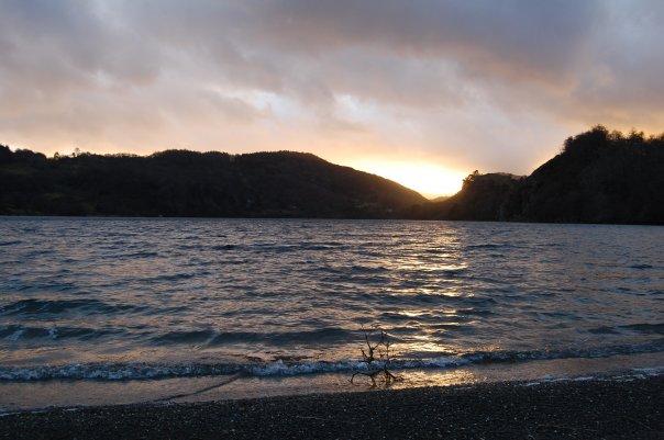 View from Llyn Gwynant campsite, Snowdonia