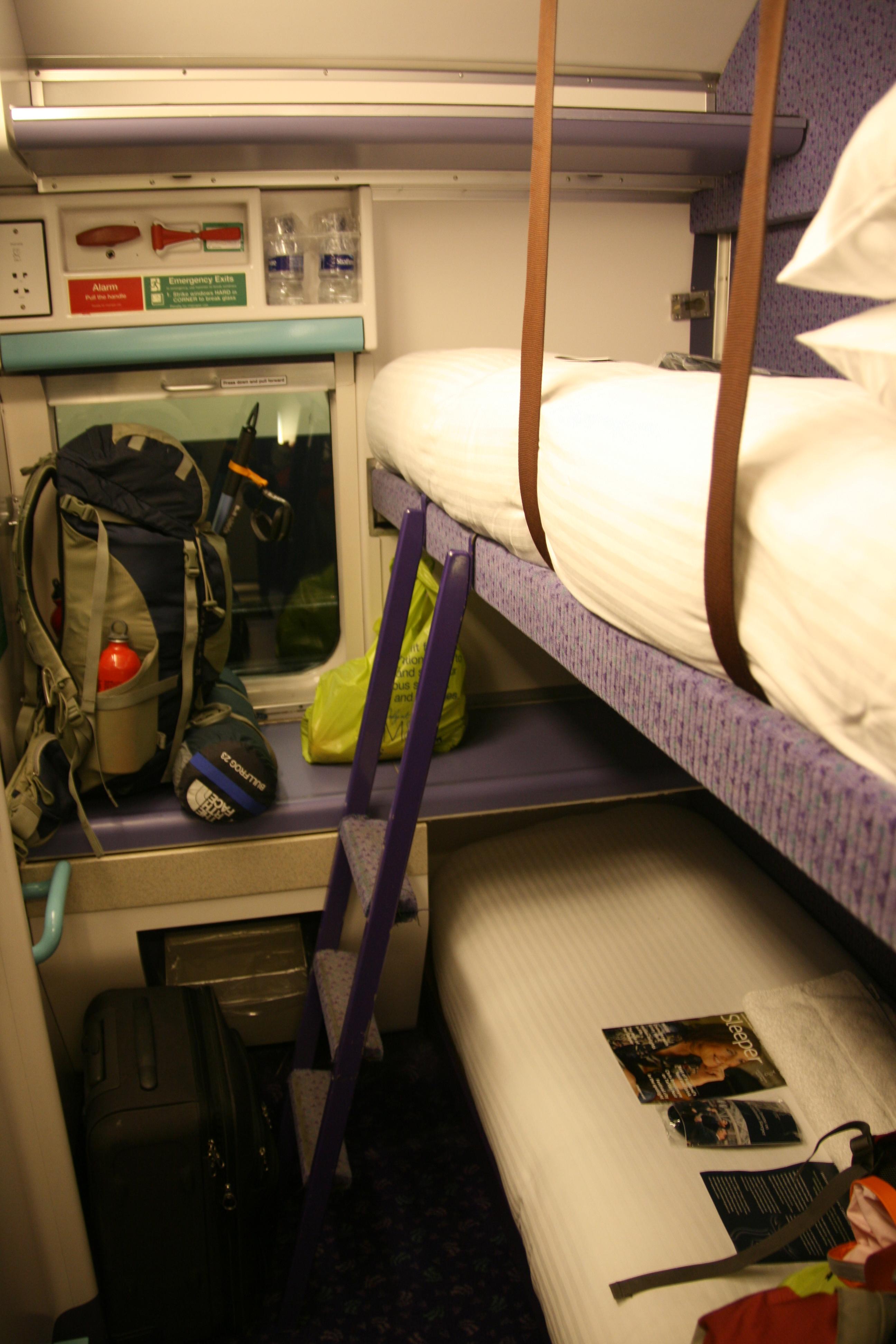 Travel The Slow Way The Sleeper Train To Scotland One