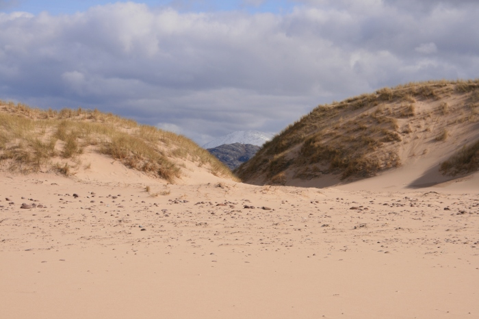 Sandwood Bay, Scotland. Mountains and beach in one!