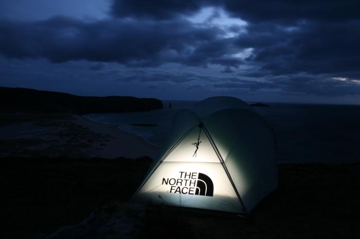 Wild camping Sandwood Bay