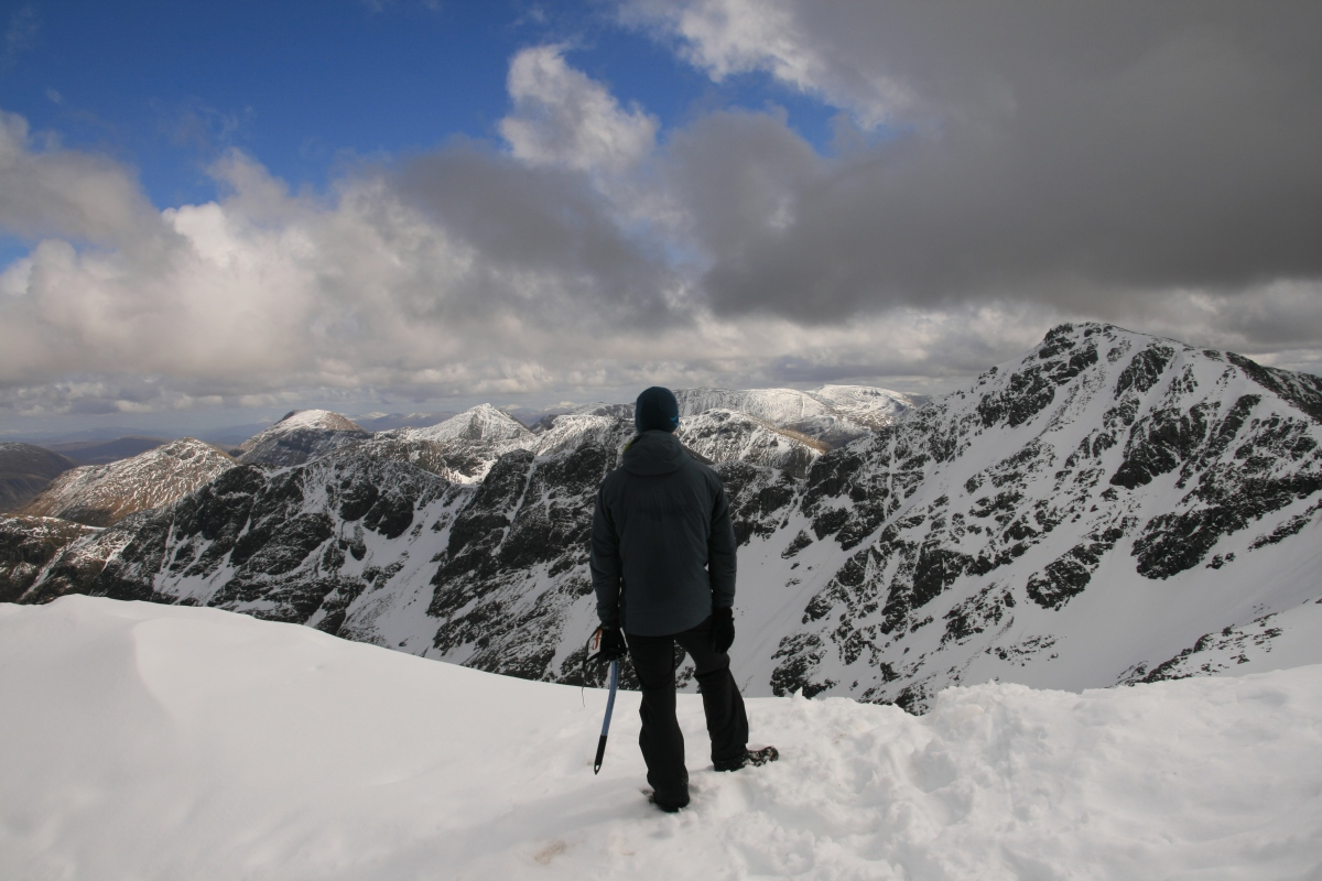The Lost Valley of Glen Coe; A Winter Hike up Stob Coire Nan Lochan
