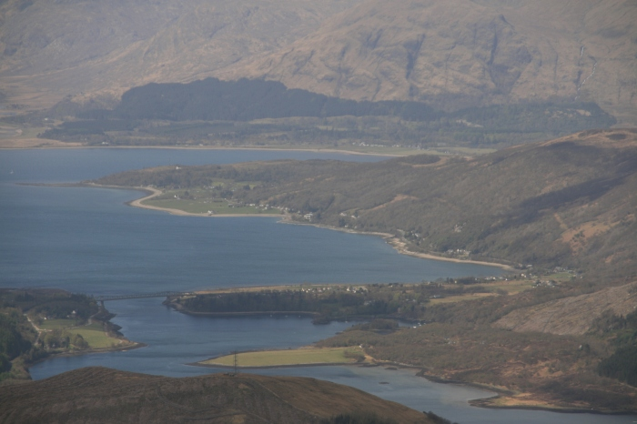 Loch Leven from Stob Coire Nan Lochan, looking west.