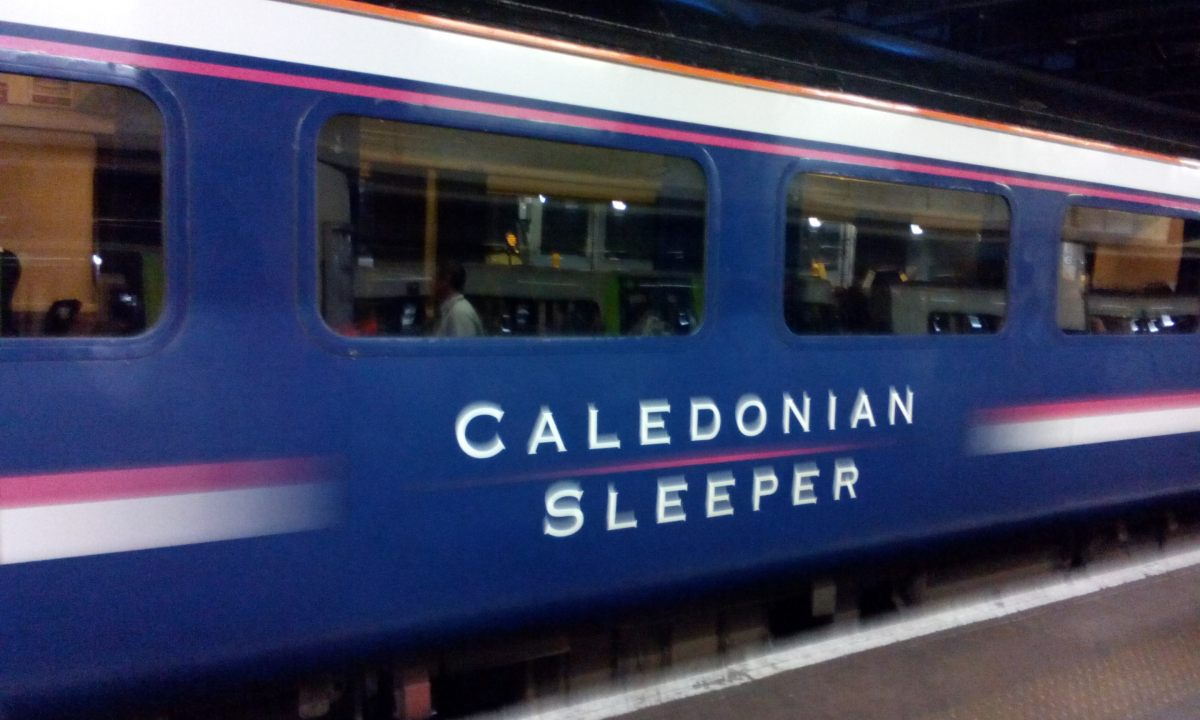 Travel the Slow Way; The Sleeper Train to Scotland