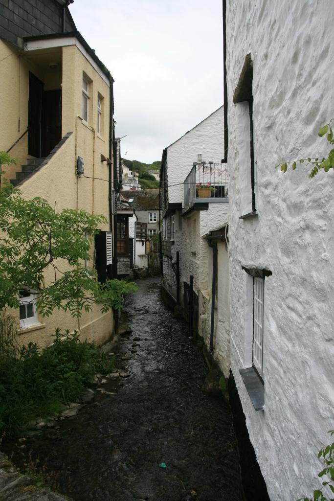 The river through Polporro, Cornwall