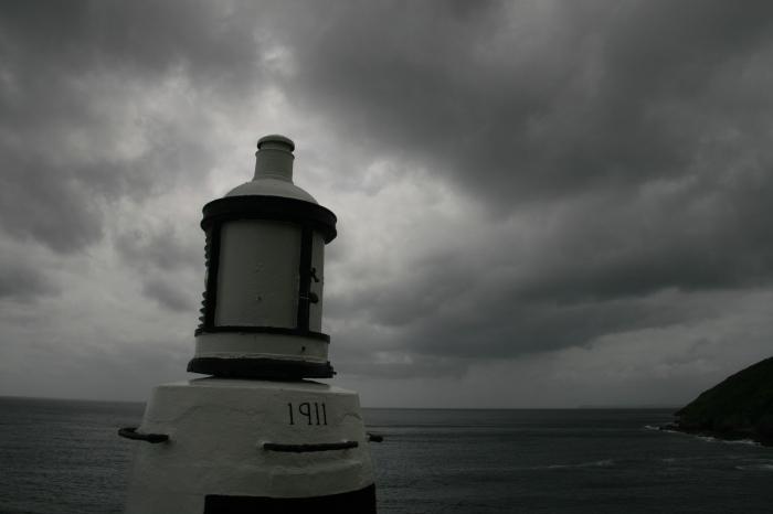 Reuben Oliver lighthouse Polperro