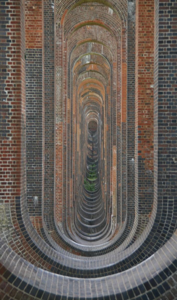 Exploring under the Balcombe Viaduct